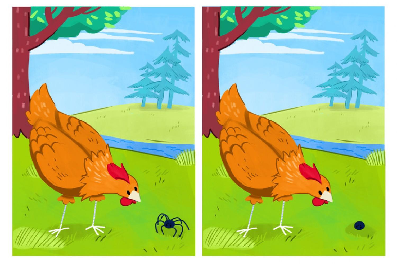 Találd meg a 8 különbséget a képen!