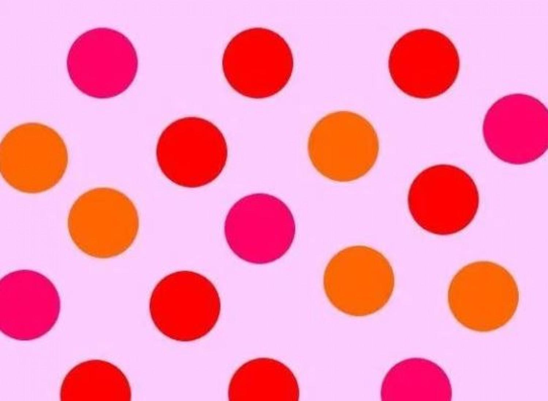 Pöttyös kihívás: csak a sasszeműek képesek mind az 5 képen megszámolni a piros pöttyöket
