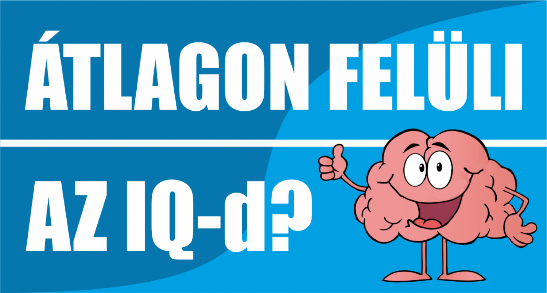 Átlagon felüli az IQ-d?