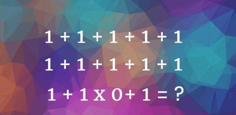 Az emberek mindössze 2%-ának sikerül megfejtenie ezt az egyszerű matematikai egyenletet