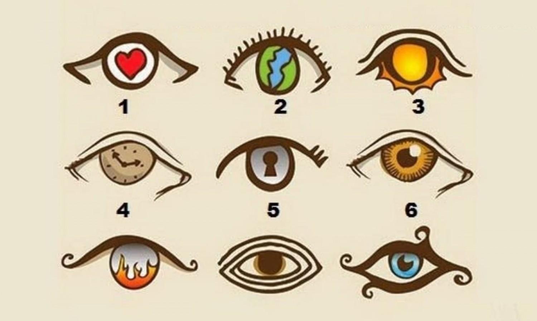 Válassz egy szemet és kiderül, milyen személyiség vagy