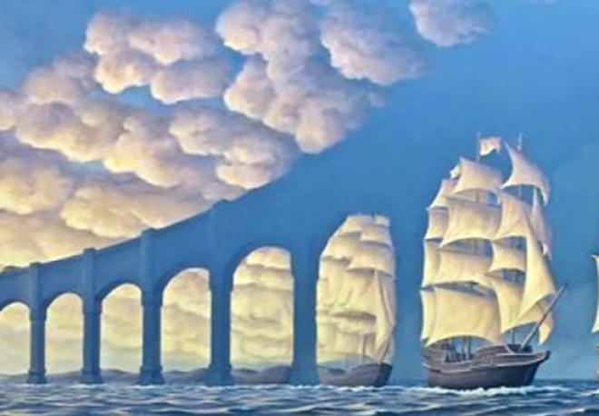 VIGYÁZZ!  A saját elméd is átverhet! 20 optikai illúzió, aminek te is be fogsz dőlni!