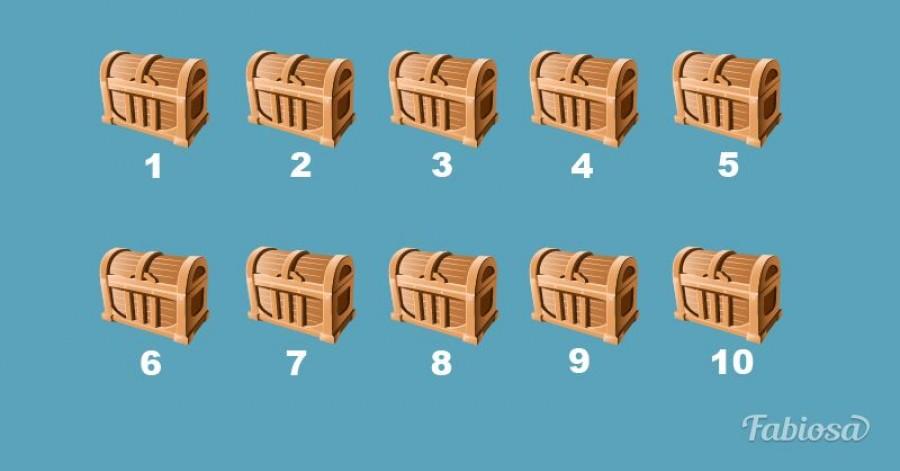 Mennyire jók a megérzéseid? A 10 láda közül melyik 3-ban van arany?