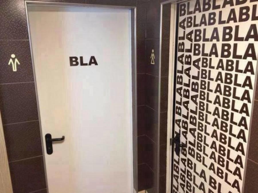 12 röhejes mosdóikon, ami egyértelműen tisztázza a férfiak és a nők közti különbséget